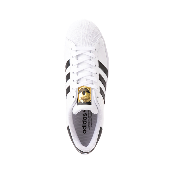 alternate view Mens adidas Superstar Athletic Shoe - White / BlackALT2
