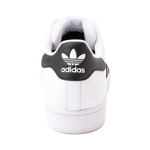 alternate view Mens adidas Superstar Athletic Shoe - White / BlackALT4