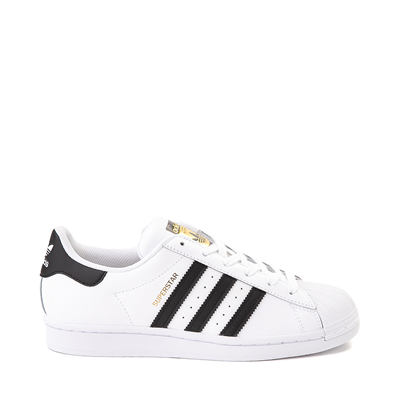 Main view of Mens adidas Superstar Athletic Shoe - White / Black