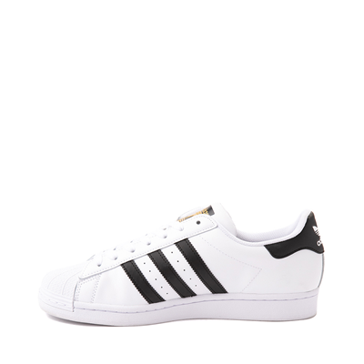Alternate view of Mens adidas Superstar Athletic Shoe - White / Black