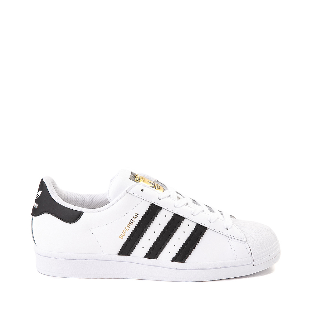 Mens adidas Superstar Athletic Shoe - White / Black