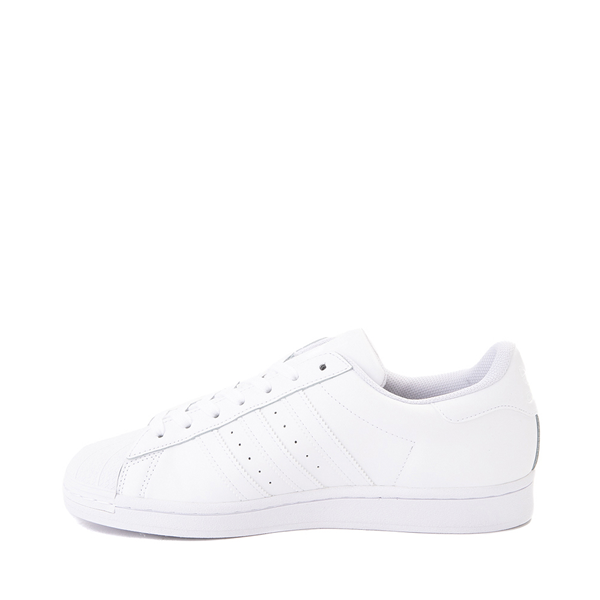 alternate view Mens adidas Superstar Athletic Shoe - White MonochromeALT1