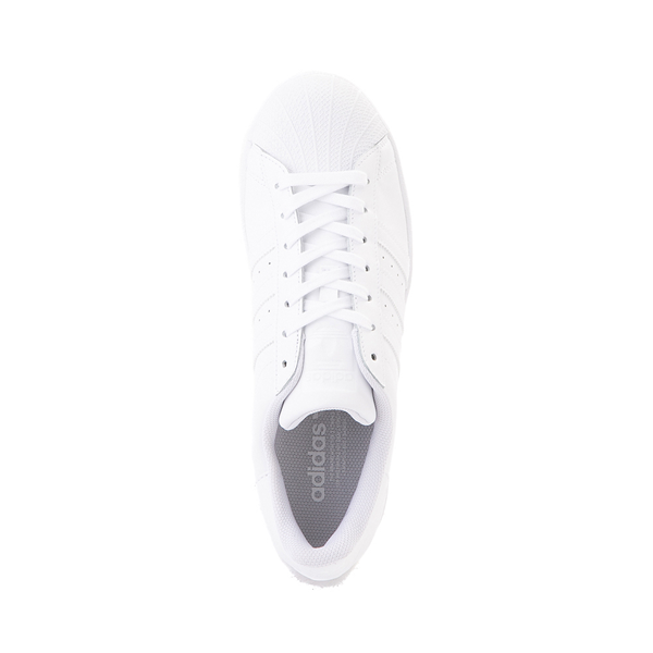 alternate view Mens adidas Superstar Athletic Shoe - White MonochromeALT2