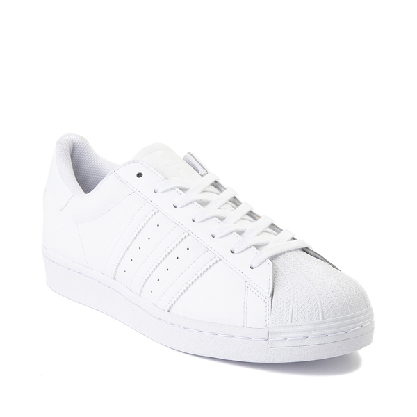 alternate view Mens adidas Superstar Athletic Shoe - White MonochromeALT5