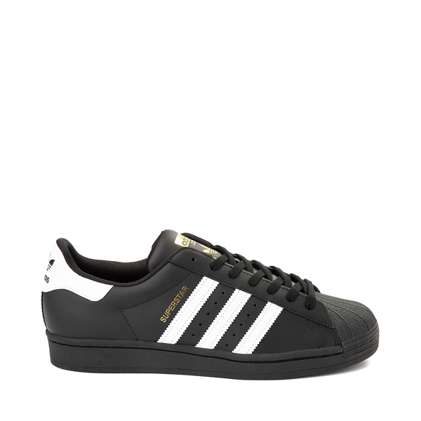 Mens adidas Superstar Athletic Shoe - Black / White