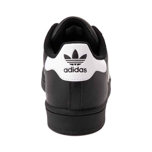 alternate view Mens adidas Superstar Athletic Shoe - Black / WhiteALT4