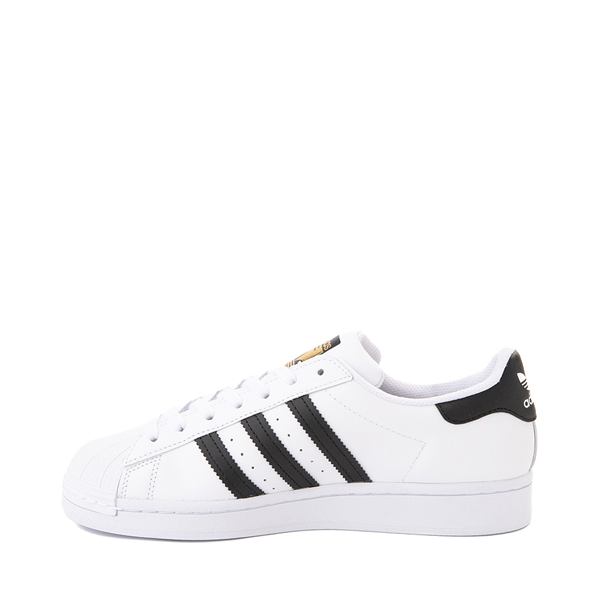alternate view Womens adidas Superstar Athletic Shoe - White / BlackALT1