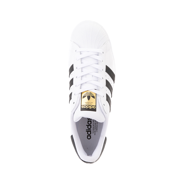 alternate view Womens adidas Superstar Athletic Shoe - White / BlackALT2