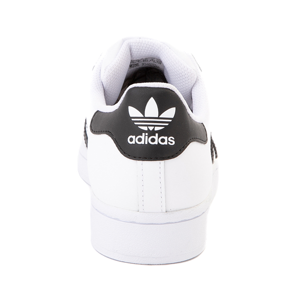 alternate view Womens adidas Superstar Athletic Shoe - White / BlackALT4