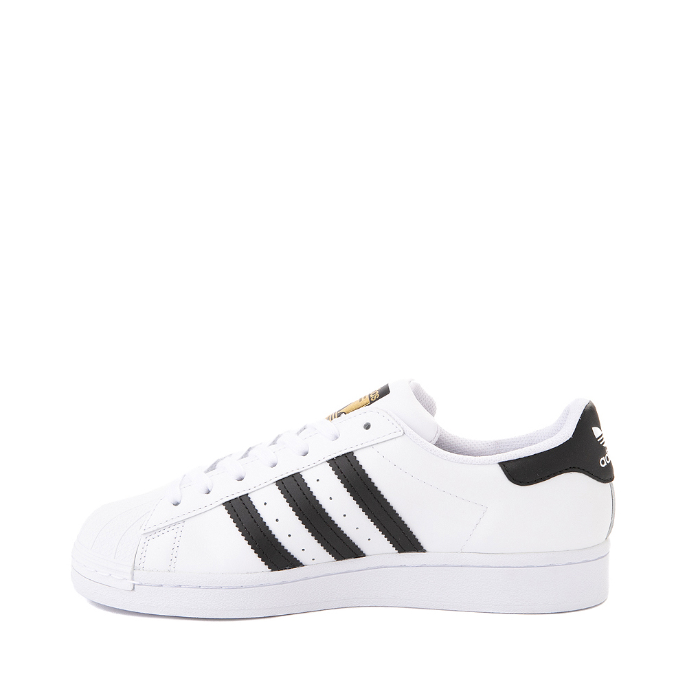 Womens adidas Superstar Athletic Shoe White Black