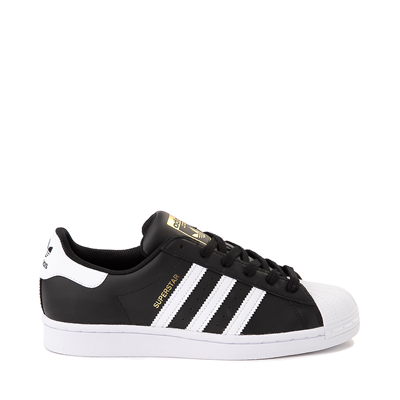 Main view of Womens adidas Superstar Athletic Shoe - Black / White