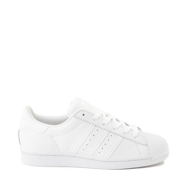 Womens adidas Superstar Athletic Shoe - White Monochrome