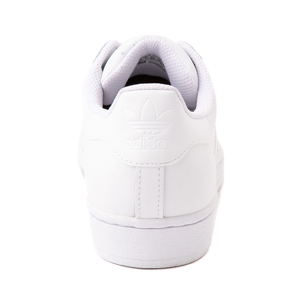 alternate view Womens adidas Superstar Athletic Shoe - White MonochromeALT4
