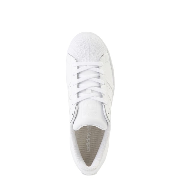 alternate view Womens adidas Superstar Athletic Shoe - White MonochromeALT4B