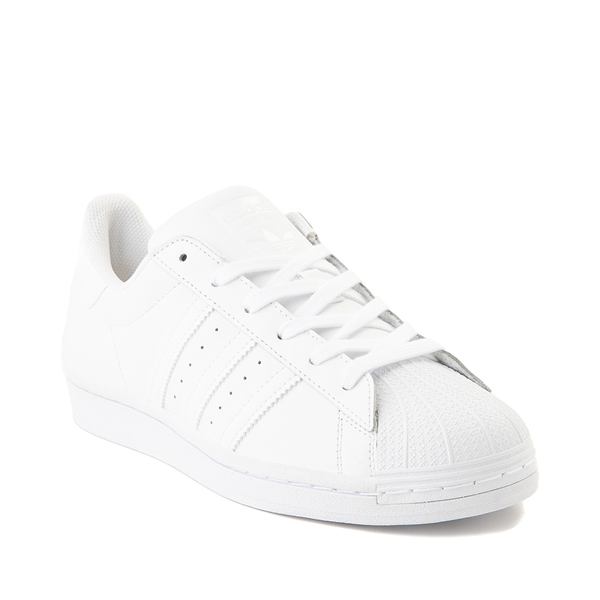 alternate view Womens adidas Superstar Athletic Shoe - White MonochromeALT5