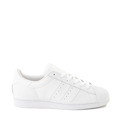 Main view of Womens adidas Superstar Athletic Shoe - White Monochrome