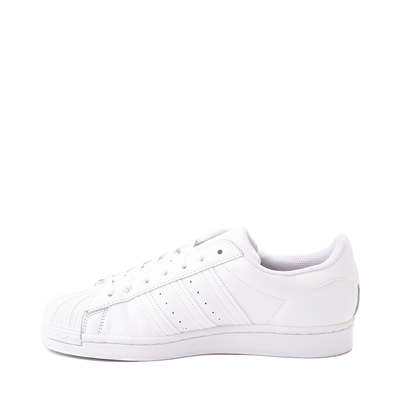 Alternate view of Womens adidas Superstar Athletic Shoe - White Monochrome
