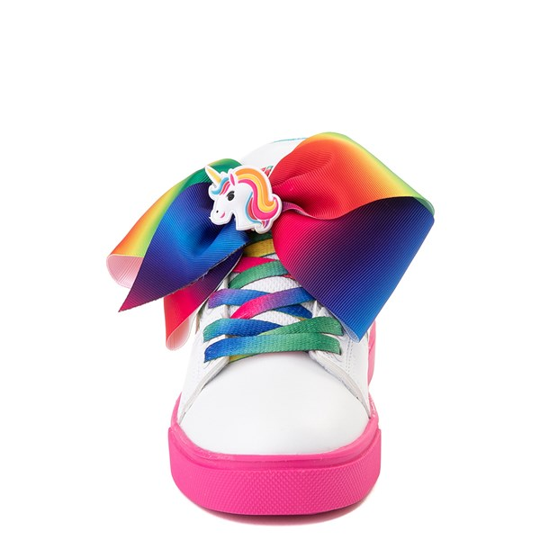 alternate view Heelys Racer JoJo Siwa™ Skate Shoe - Little Kid / Big Kid - White / RainbowALT4