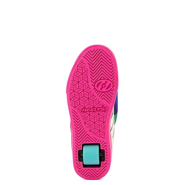 alternate view Heelys Racer JoJo Siwa™ Skate Shoe - Little Kid / Big Kid - White / RainbowALT5