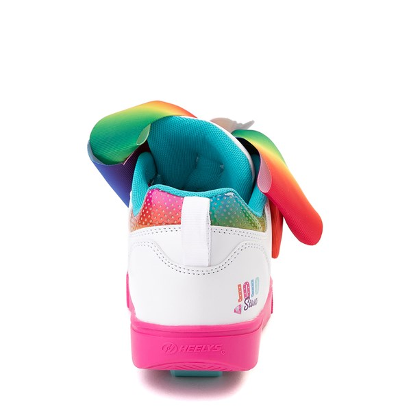 alternate view Heelys Racer JoJo Siwa™ Skate Shoe - Little Kid / Big Kid - White / RainbowALT6