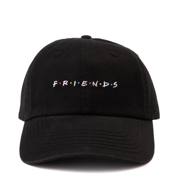 Main view of Friends Dad Hat - Black