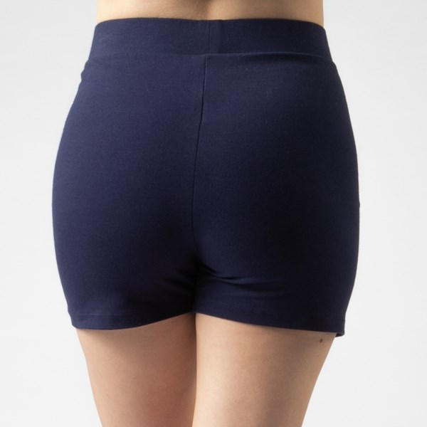alternate view Womens Fila Beatriz High Rise Bike Shorts - NavyALT5C