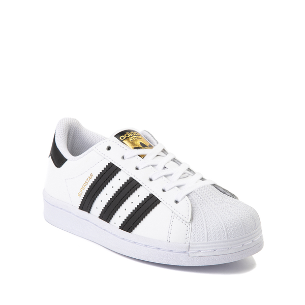 alternate view adidas Superstar Athletic Shoe - Big Kid - White / BlackALT5