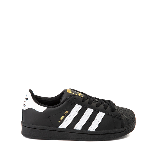 Main view of adidas Superstar Athletic Shoe - Big Kid - Black / White