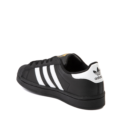 Alternate view of adidas Superstar Athletic Shoe - Big Kid - Black / White