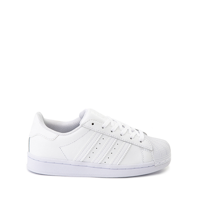 Main view of adidas Superstar Athletic Shoe - Big Kid - White Monochrome
