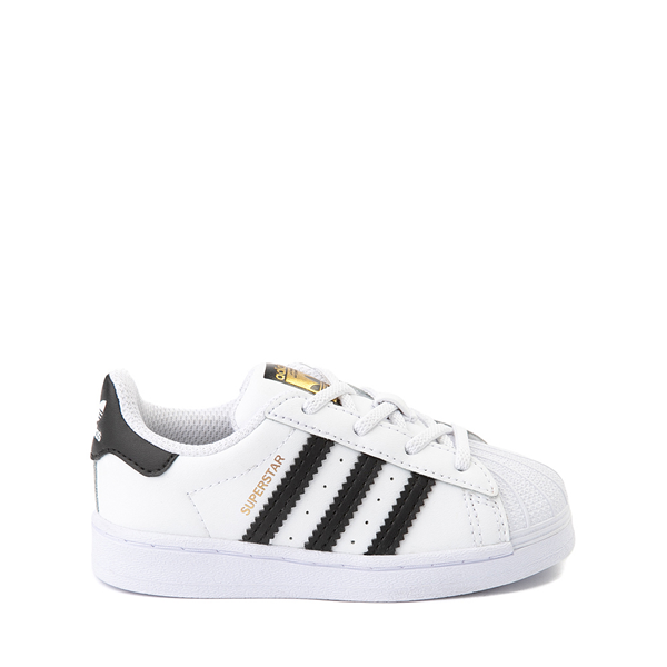 Main view of adidas Superstar Athletic Shoe - Baby / Toddler - White