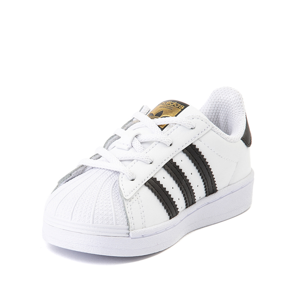 alternate view adidas Superstar Athletic Shoe - Baby / Toddler - WhiteALT2