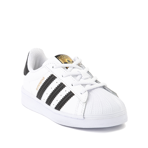 alternate view adidas Superstar Athletic Shoe - Baby / Toddler - WhiteALT5