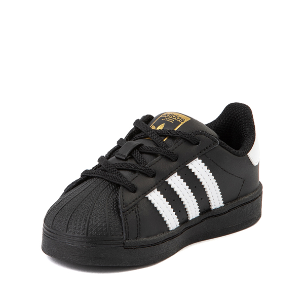 alternate view adidas Superstar Athletic Shoe - Baby / Toddler - BlackALT2