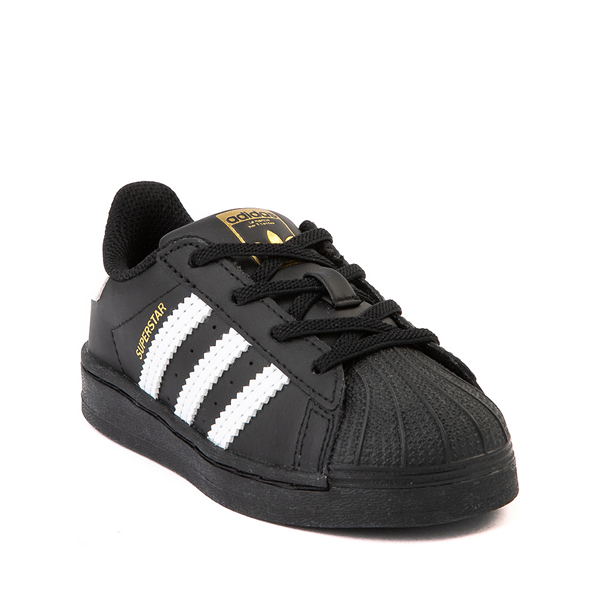 alternate view adidas Superstar Athletic Shoe - Baby / Toddler - BlackALT5