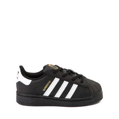 Main view of adidas Superstar Athletic Shoe - Baby / Toddler - Black