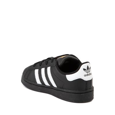 Alternate view of adidas Superstar Athletic Shoe - Baby / Toddler - Black