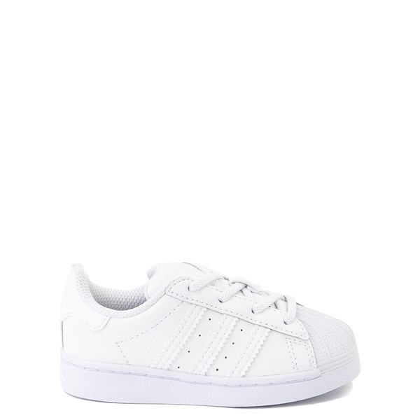 Main view of adidas Superstar Athletic Shoe - Baby / Toddler - White Monochrome