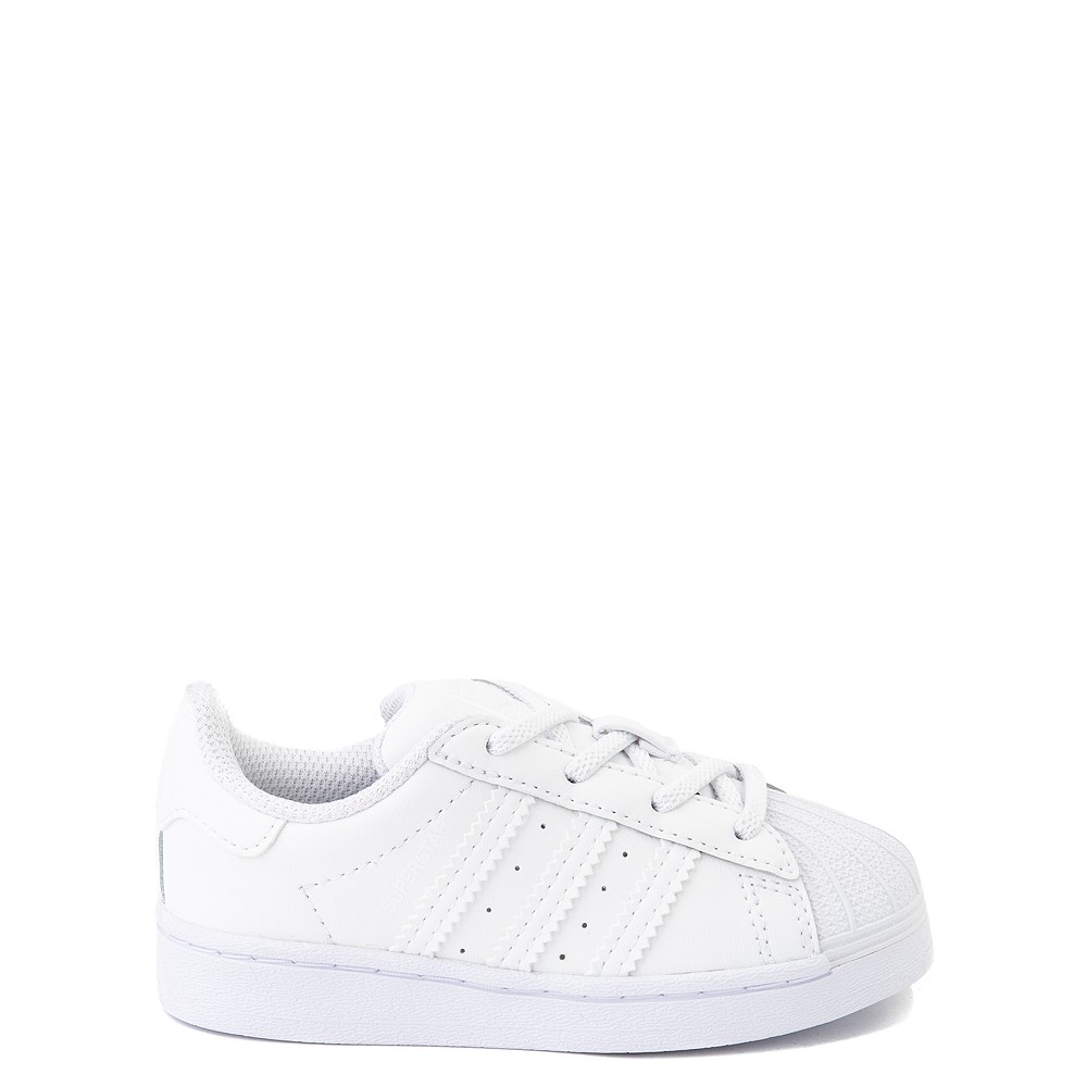 adidas Superstar Athletic Shoe - Baby / Toddler - White Monochrome