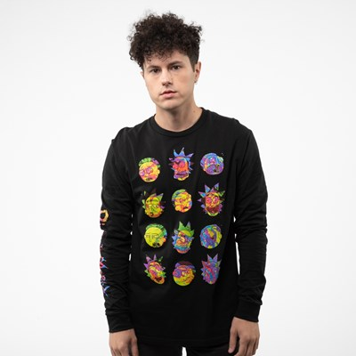 Main view of Mens Rick And Morty Long Sleeve Tee