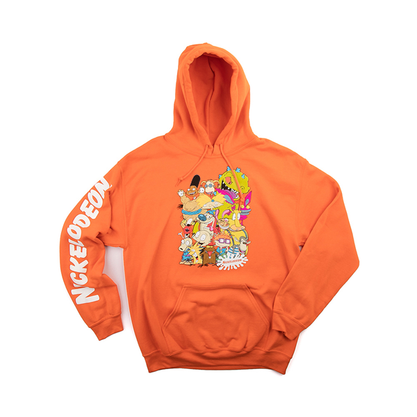 alternate view Mens Nickelodeon Peeps Hoodie - OrangeALT2
