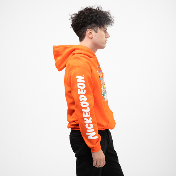 alternate view Mens Nickelodeon Peeps Hoodie - OrangeALT3