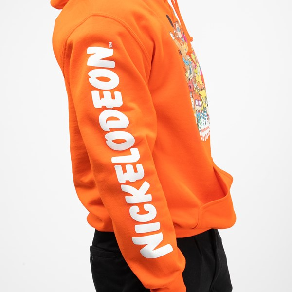 alternate view Mens Nickelodeon Peeps Hoodie - OrangeALT6