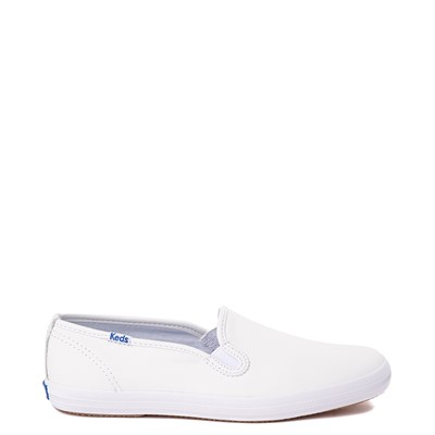 Main view of Womens Keds Champion Slip On Leather Casual Shoe