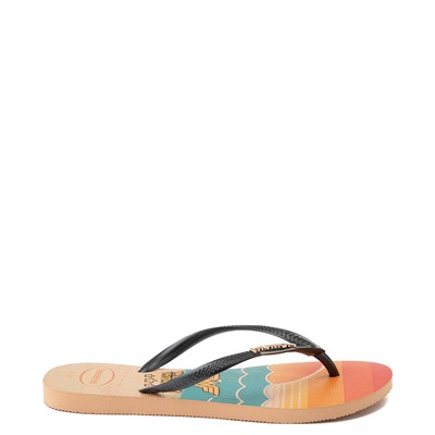 Alternate view of Womens Havaianas Wonder Woman Slim Sandal - Multi