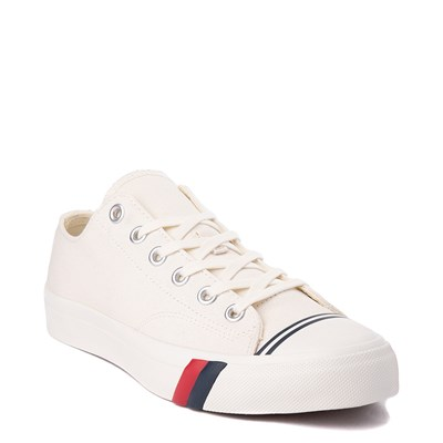Alternate view of Mens PRO-Keds Royal Lo Sneaker - White