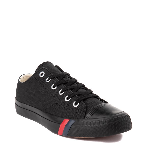 alternate view Mens PRO-Keds Royal Lo Sneaker - Black / BlackALT5