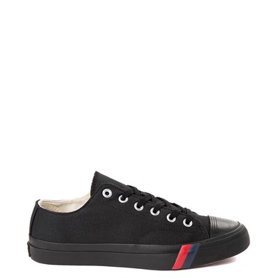 Main view of Mens PRO-Keds Royal Lo Sneaker - Black / Black