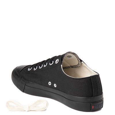 Alternate view of Mens PRO-Keds Royal Lo Sneaker - Black / Black