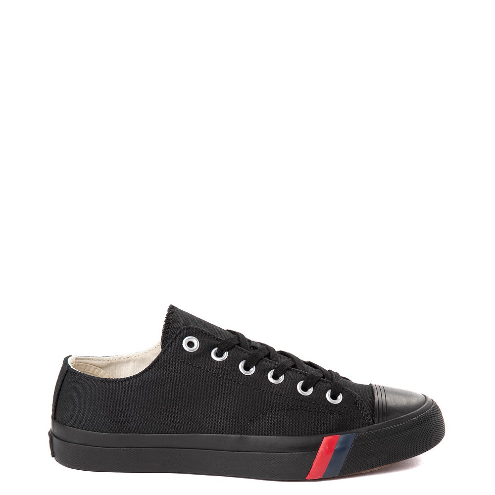 Mens PRO-Keds Royal Lo Sneaker - Black / Black